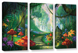 Hidden Treasure, 3 Piece Gallery-Wrapped Canvas Set Prints by Philip Straub