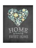 Hjem kjære hjem Premium Giclee-trykk av Jo Moulton