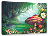 Enchanted Forest, Gallery-Wrapped Canvas Stretched Canvas Print by Philip Straub