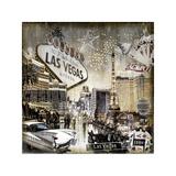 Las Vegas Giclée-Druck von Dylan Matthews