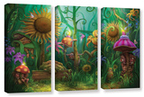 Meet The Imaginaries, 3 Piece Gallery-Wrapped Canvas Set Posters by Philip Straub