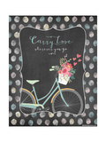 Carry Love Print by Jo Moulton