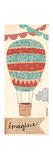 Imagine Balloon Affiches par Katie Doucette