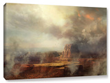Before The Rain, Gallery-Wrapped Canvas Stretched Canvas Print by Philip Straub