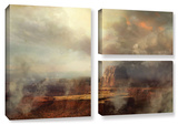 Before The Rain, 3 Piece Gallery-Wrapped Canvas Flag Set Gallery Wrapped Canvas Set by Philip Straub