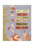 Autumn Words Affiches par Katie Doucette
