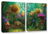 Meet The Imaginaries, 2 Piece Gallery-Wrapped Canvas Set Prints by Philip Straub