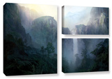 Afternoon Light , 3 Piece Gallery-Wrapped Canvas Flag Set Gallery Wrapped Canvas Set by Philip Straub