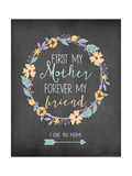 My Mother First Pósters por Jo Moulton