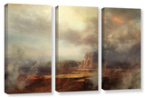 Before The Rain, 3 Piece Gallery-Wrapped Canvas Set Posters by Philip Straub