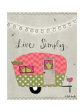 Simple Camper Posters by Katie Doucette