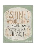 Shine Your Light Reproduction giclée Premium par Katie Doucette