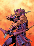 Hawkeye No.5 Cover: Hawkeye Plastic Sign by Carlos Pacheco