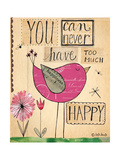 Too Much Happy Premium Giclee Print by Katie Doucette