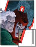 Avengers: Earths Mightiest Heroes No.7 Cover: Quicksilver and Scarlet Witch Posters