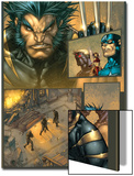 Ultimates 3 No.3 Headshot: Wolverine Kunstdrucke von Joe Madureira