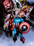 Avengers No.99 Annual: Captain America, Iron Man, Wasp and Avengers Wall Decal by Leonardo Manco