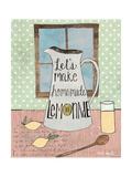 Limonade Reproduction giclée Premium par Katie Doucette