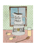 Lemonade Giclee-tryk i høj kvalitet af Katie Doucette