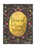 Record Moments Pósters por Katie Doucette