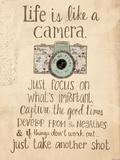 Life Is Like a Camera Reproduction giclée Premium par Katie Doucette
