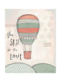 Sky Is the Limit Reproduction giclée Premium par Katie Doucette