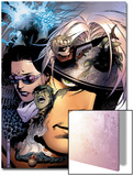 Young Avengers No.11 Cover: Hulkling, Stature, Bishop, Kate, Shepherd, Thomas and Patriot Posters by Jim Cheung