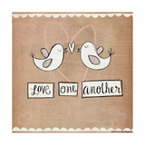 Love One Another Art by Katie Doucette