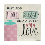 Flour Sugar and a Lotta Love Premium Giclee Print by Katie Doucette