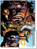 Marvel Adventures Avengers No.9 Cover: M.O.D.OK. Prints by Stewart Cameron