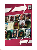 New Avengers No.42 Cover: Cage Wall Decal