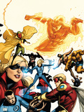 The Mighty Avengers No.25 Cover: Invisible Woman Print by Khoi Pham