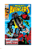 Avengers No.69 Cover: Kang Wall Decal by Sal Buscema