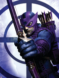 Dark Reign: Hawkeye No.1 Cover: Hawkeye Plastic Sign by Clint Langley