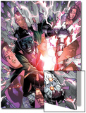 Young Avengers No.5 Cover: Kang and Iron Lad Fighting Prints by Jim Cheung
