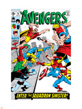 Avengers No.70 Cover: Hyperion Plastic Sign by Sal Buscema