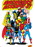 Giant-Size Avengers/Invaders No.1 Group: Thor Wall Decal by Sal Buscema