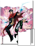Young Avengers Presents No.3 Cover: Wiccan and Speed Prints by Jim Cheung