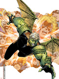 Young Avengers Presents No.2 Cover: Hulkling Plastic Sign by Jim Cheung