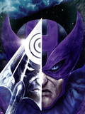 Dark Reign: Hawkeye No.3 Cover: Hawkeye Plastic Sign by Clint Langley