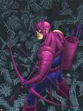 Hawkeye No.7 Cover: Hawkeye Plastic Sign by Scott Kolins