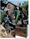 Avengers: The Childrens Crusade No.2: Quicksilver and Speed Standing Prints by Jim Cheung
