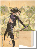 Young Avengers Presents No.6 Cover: Hawkeye Wood Print by Jim Cheung