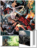 Dark Avengers No.7 Group: Wolverine, Dagger, Avalanche and Weapon Omega Prints by Luke Ross