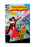 Avengers West Coast No.43 Cover: Scarlet Witch Plastic Sign by John Byrne