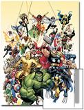 Los vengadores clásicos, portada nro.1: Hulk Lámina por Arthur Adams