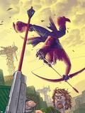 Hawkeye No.6 Cover: Hawkeye Plastic Sign by Scott Kolins