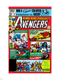 Avengers Annual No.10 Cover: Captain America Vinilo decorativo por Michael Golden