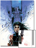 New Avengers No.39 Cover: Echo and Wolverine Posters by David Mack