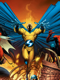 New Avengers No.2 Cover: Sentry Plastic Sign by Trevor Hairsine